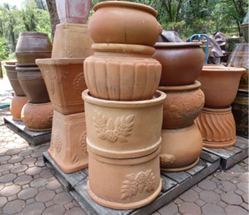 Pottery Farm Garden PotteryFountains from Thailand and Vietnam